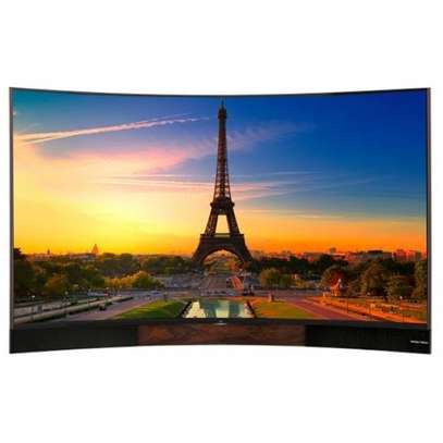 TCL digital smart 55 inches curved 4k image 1