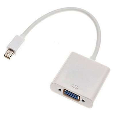 Mini Display Port To VGA Adapter Cable.