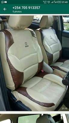 Well stitched car seat covers image 2