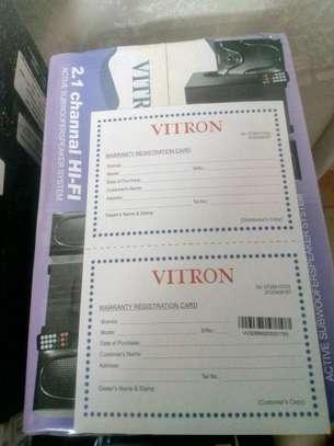 Vitron 2.1 Channel Hi-fi subwoofer speaker system image 2