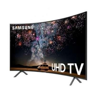 Samsung 55 Inch HDR 4K UHD Smart Curved LED TV UA55RU7300K 2019 MODEL image 2