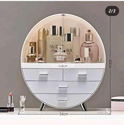Round cosmetic organizer image 2