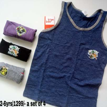 Boys Cartoon Themed Vests image 2