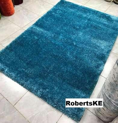 Turkish soft blue carpet image 1