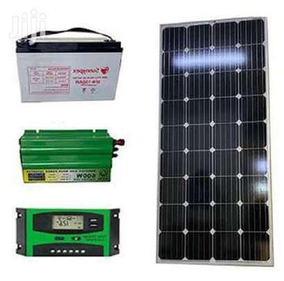 Solar 100watts solar pannel kit image 1