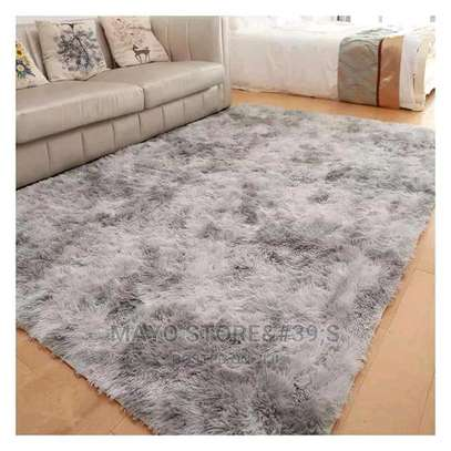 Patched Soft Fluffy Carpets image 2