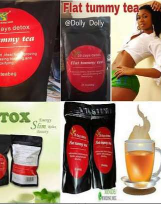 28 days Flat Effective Tummy Tea  (With Moringa And Oolong Tea) for weightloss and unwanted fat areas of the body in less than a month ..