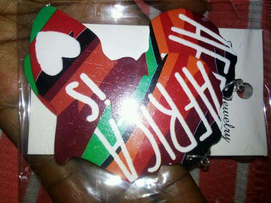 African themed earings