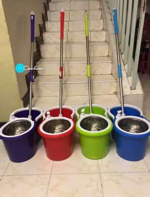 spin mop and bucket image 1
