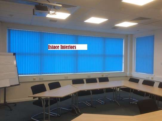 Colourful office blinds image 3