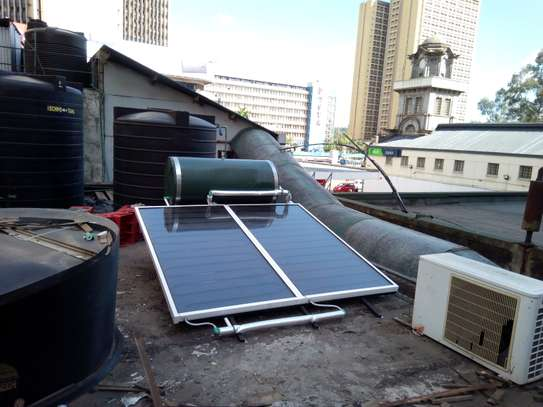 300 litre Sunraserg Solar Water Heating System image 2