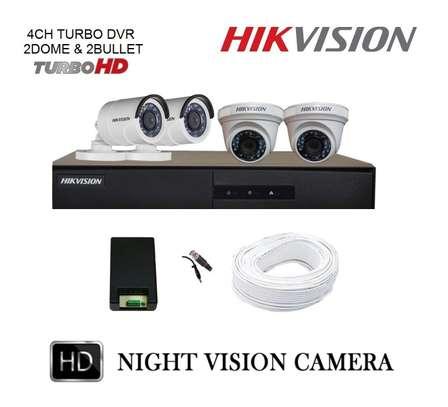 4 CCTV COMPLETE KIT (Free BNC & DC Jacks) image 2