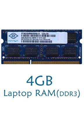 4GB LAPTOP RAM(DDR3)