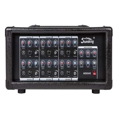 soundking power mixer 6 channel