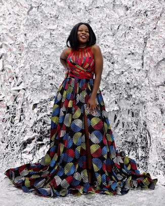 African Ankara Kitenge Dress