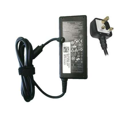 Dell Laptop Charger 19.5V - 3.34A Complete with Power Cable / 3Pin Cord image 3
