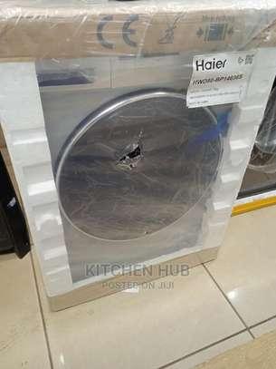 Haier 8kg Front Load Washing Machine image 1