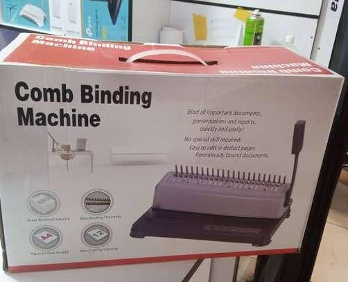 Binding Machine Comb Binding Machine image 1