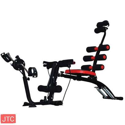 Six pack machine with pedals image 1
