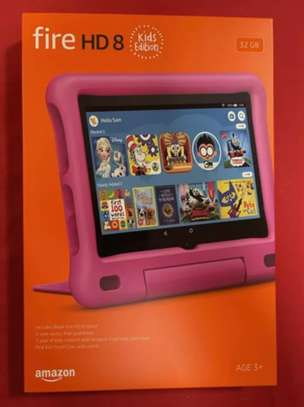 """Amazon Fire HD 8 Kids Edition Tablet 32GB 8"""" Display 2020 Pink image 1"""