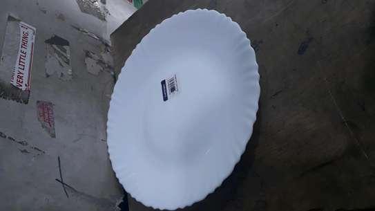 6pc luminarc dinner plates image 3