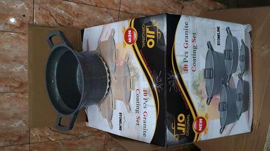 10pc granite sufuria/cookware/10pcs granite coating set image 1