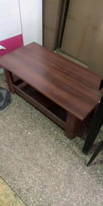 Tea table ideal between sofas image 1