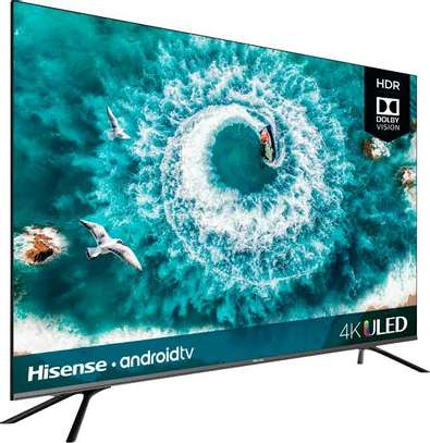 Hisense 65 inches UHD-4K Android Smart Digital TVs image 1