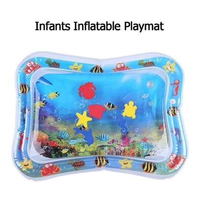 Baby inflatable water play mat. image 5