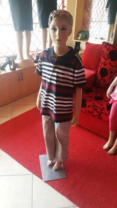 Boys' Straight Cut Chinos with Matching Polo T-Shirt image 4