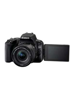 Canon EOS 200D DSLR Camera 18-55mm Lens image 1