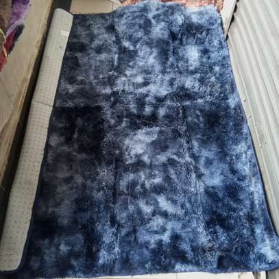 Patched fluffy carpets image 4