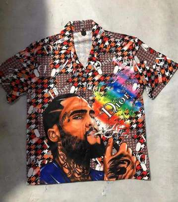 Mens  designer shirts image 9