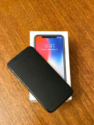 Apple IPhone x black with iwatch.  256 gb image 3