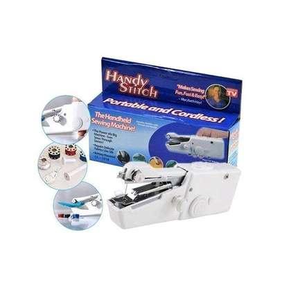 Generic Mini Portable Battery Power Handheld Sewing Machine image 1