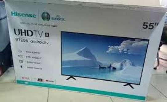 Hisense 55 Inch 4K Android Smart Tv 55B7200UW 7 Series image 1