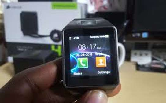 Bluetooth Smart Watch DZ09 Smartwatch GSM SIM Card for Android Iphone image 1