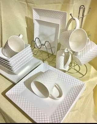 24 pc ceramic  Dinner sets galore image 5