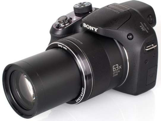 Sony Sony Cyber-Shot DSC-H400 - with 20.1 MEGA PIXEL and 63x OPTICAL ZOOM Digital Camera - Black image 1