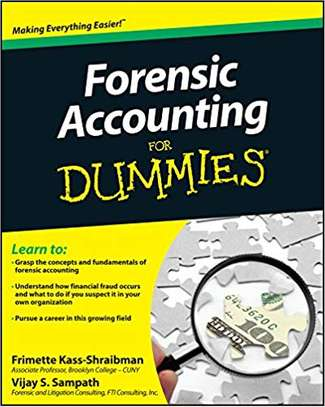Forensic Accounting For Dummies 1 image 1