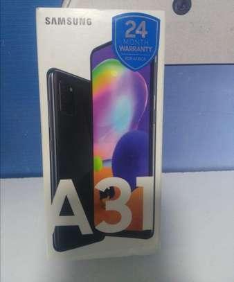 """Samsung Galaxy A31, 6.4"""",128GB + 6GB RAM,Dual SIM-black image 1"""