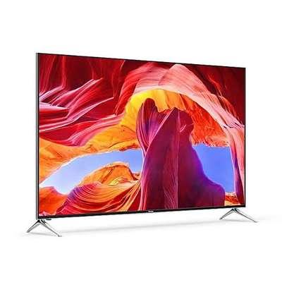 Hisense Frameless 65 inches Android UHD-4K Smart Digital TVs image 1