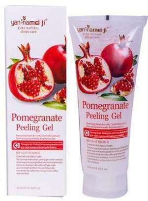 Pomegranate infused face peel off mask with Natural fruit extract  gets rid of skin impurities. .