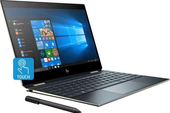 HP SPECTRE X360 13-AP0010CA Laptop i7 8765U /8GB/256/TOUCH GEM CUT ,BLUE image 1