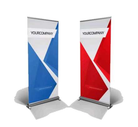 Full color Roll up banner printing image 1