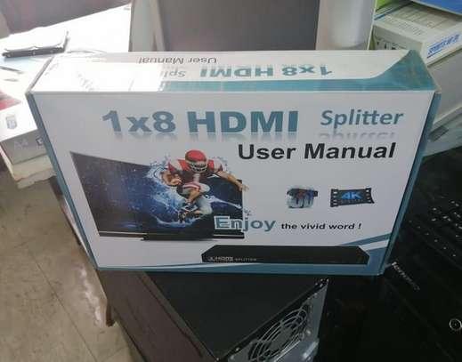 1X8 Port HDMI Splitter Full HD 1080P image 1
