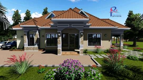4 Bedroom house design image 1