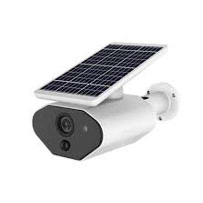 Solar CCTV Outdoor Security IP Camera image 1
