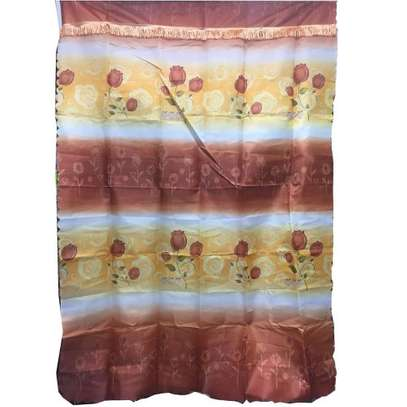 Patterned/Floral Window Curtains - Multicolour