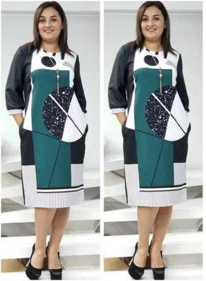 TURKEY MULTICOLORED SHIFT DRESS image 1